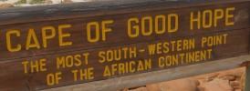 placa Cabo da Boa Esperança