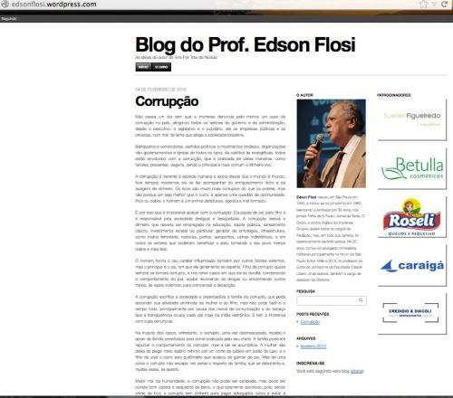 blog do Flosi