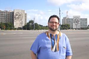 Ao fundo Che e Cienfuegos. Na frente, Castro. Não o Fidel, outro Castro