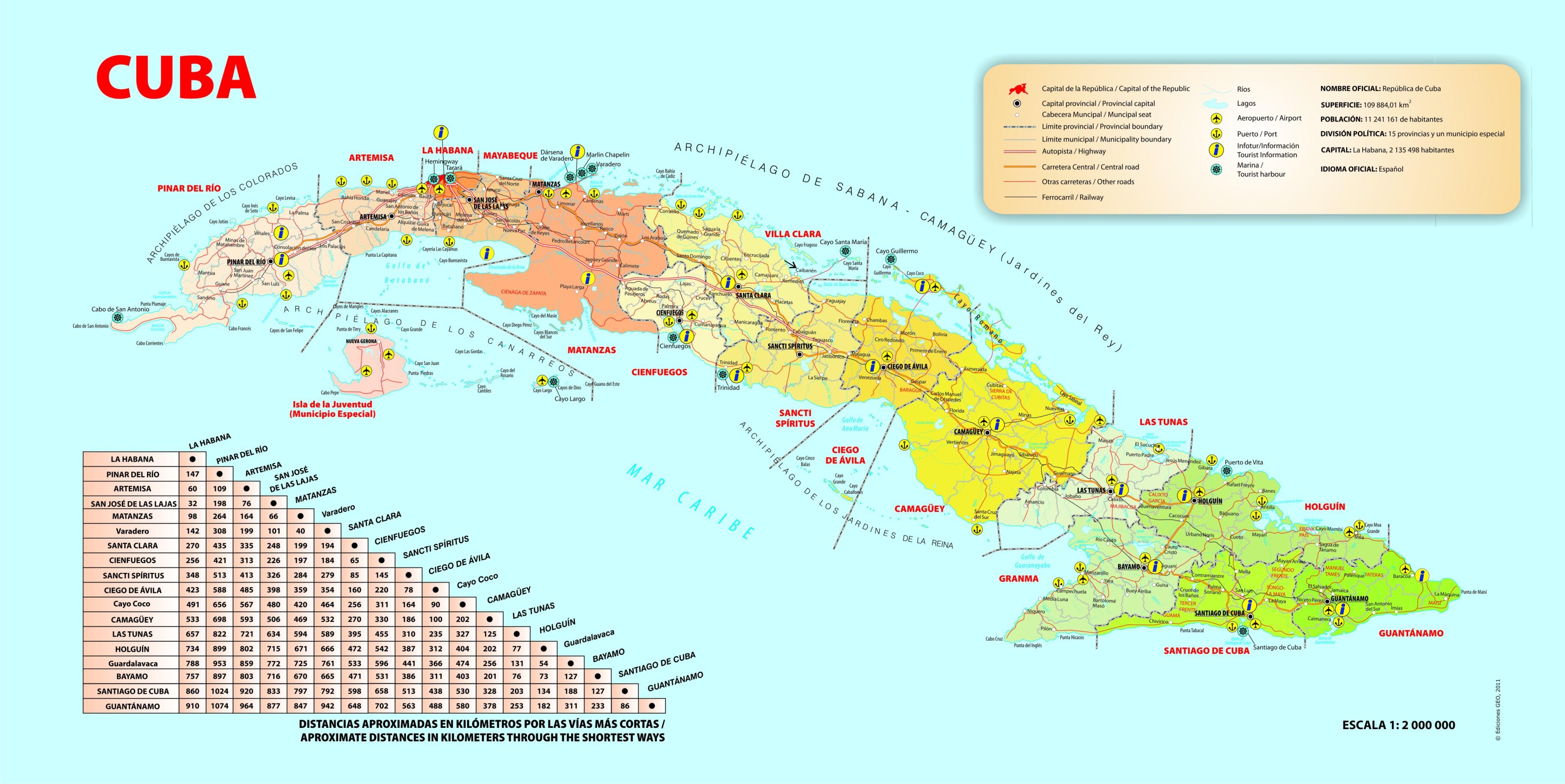 Cayos De Cuba Mapa.Cuba Mapa Cayos