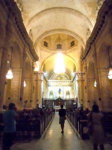 Interior da Catedral de Havana