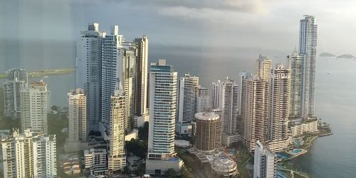 188 vista do 55o andar do Hard Rock Hotel Panama