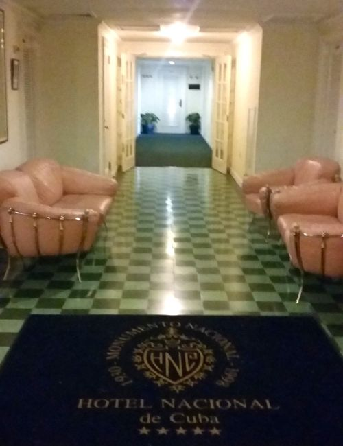 corredor do hotel Nacional